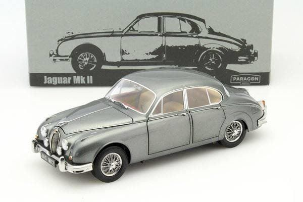 Jaguar Mark II 3.8 1959-1969 LHD grau