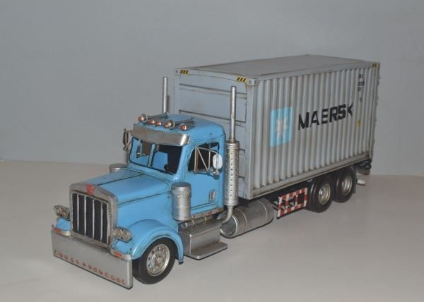 Blechmodell-US CONTAINER TRUCK LKW