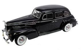 SI18133a Packard Hard Top 1938 black