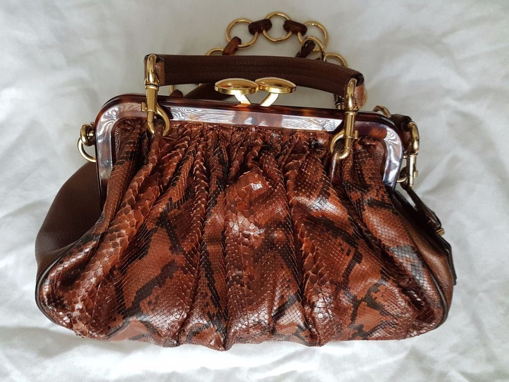 Marc Jacobs Python Stam Limited Edition