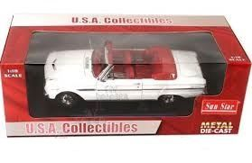 S04532 Ford Falcon Conv. 1963 white 1:18