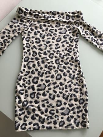 sexy kleid leo muster grsse s m - Leo Muster