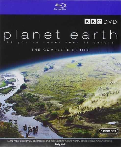 Kult: Blu Ray - BBC Planet Earth 5 Discs