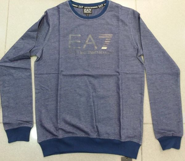 EMPORIO ARMANI  EA7 SWEATER NAVY 3XL NEU
