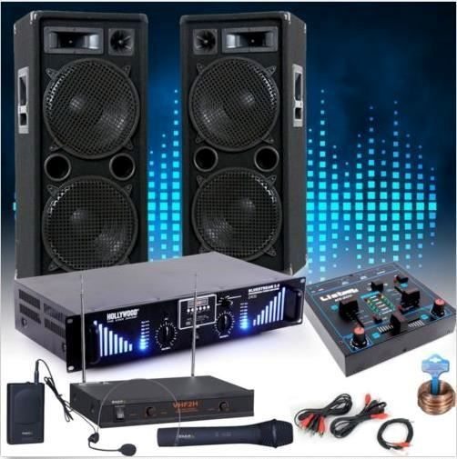 PA Karaoke Party Musik Anlage MP3 USB SD