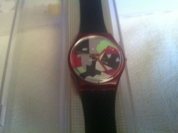 SWATCH GENT ANNEE 1991 USA ONLY - GR 113