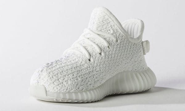 ADIDAS YEEZY BOOST350 WHITE CREAM INFANT