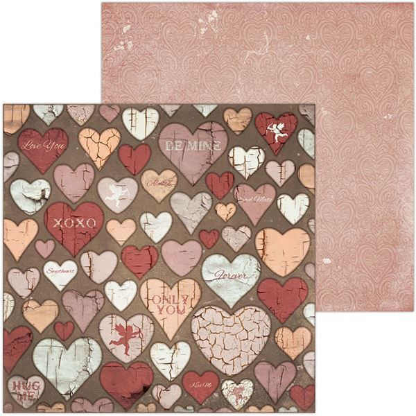 Scrapbooking Papier-Only You-Cupid
