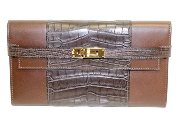 Hermes Kelly Wallet Clutch Portemonnaie