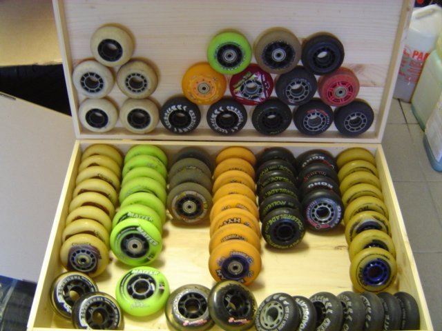 54x Skate-Räder Hockey - Wheels