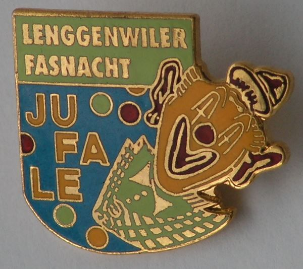 Pin Fasnacht Lenggenwil, um 1994