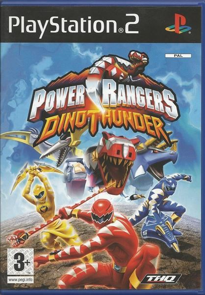 Power Rangers: Dino Thunder (Sony PlaySt