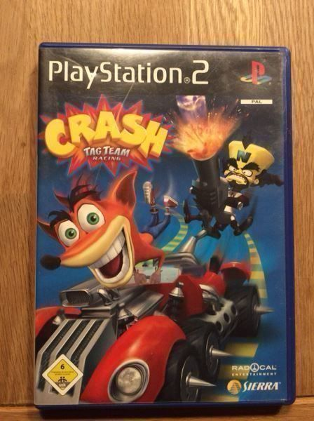 Crash Tag Team Racing Ps2 Iso