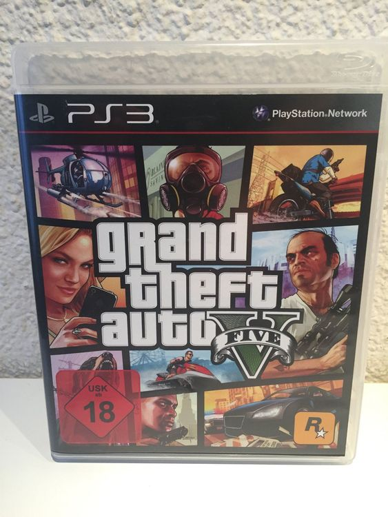 Sony PS3 Grand theft auto five
