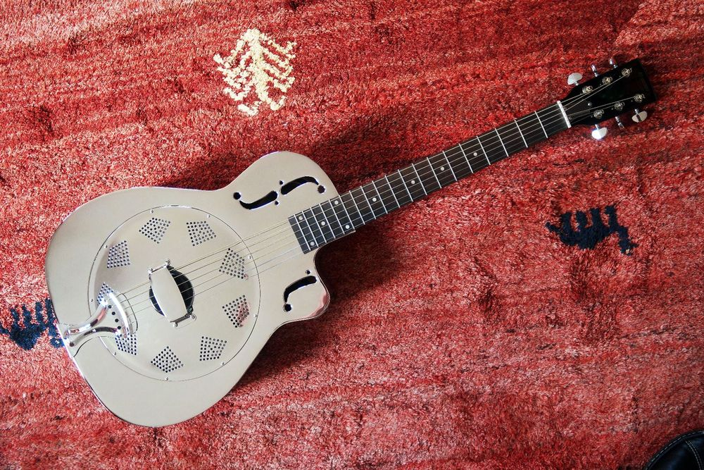 guitare Dobro Mansion cutaway new