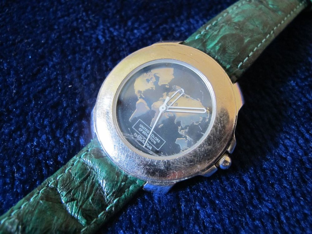 Bulova Benetton Quarz Herrenuhr