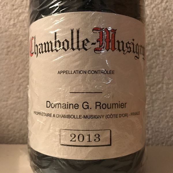 GEORGES ROUMIER CHAMBOLLE-MUSIGNY 2013