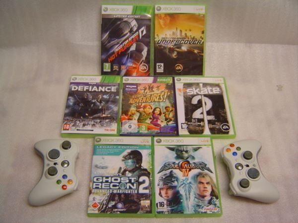 7x XBOX 360  + 2x Wireless Controller