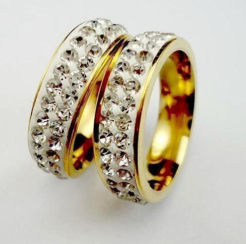 Stylischer ETERNITY-RING *gold*