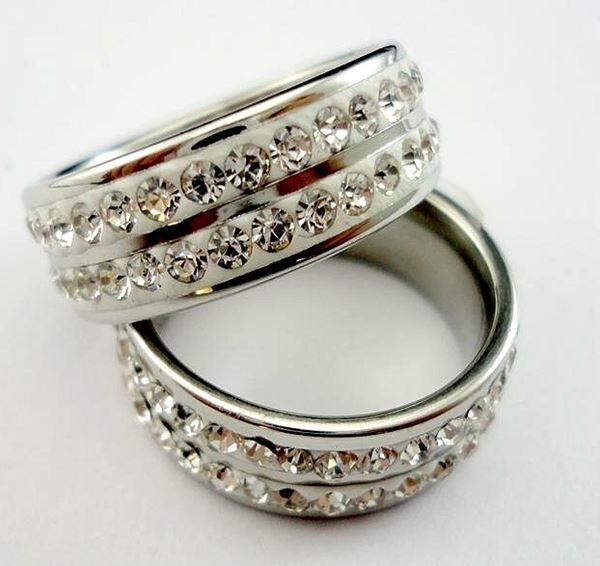 Eleganter LADIES-RING *silber* & *gold*