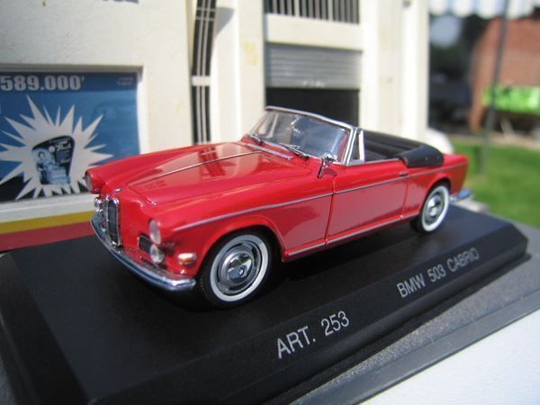 BMW 503 Cabriolet Phase I 1956-1957 rot