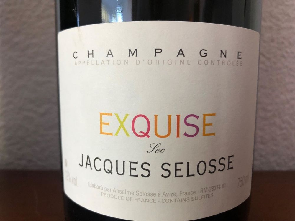 CHAMPAGNE JACQUES SELOSSE CUVEE EXQUISE