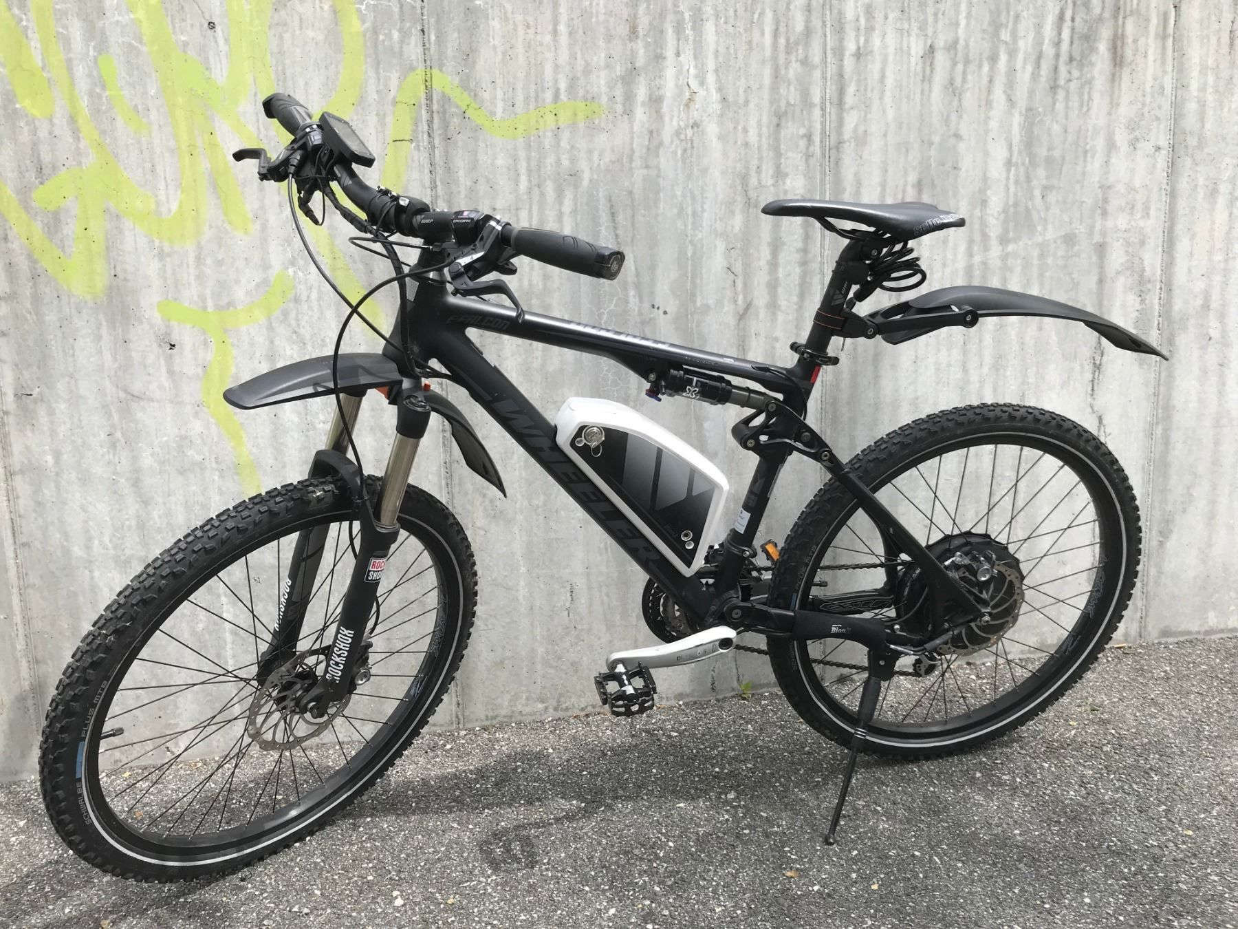 E-Bike Wheeler
