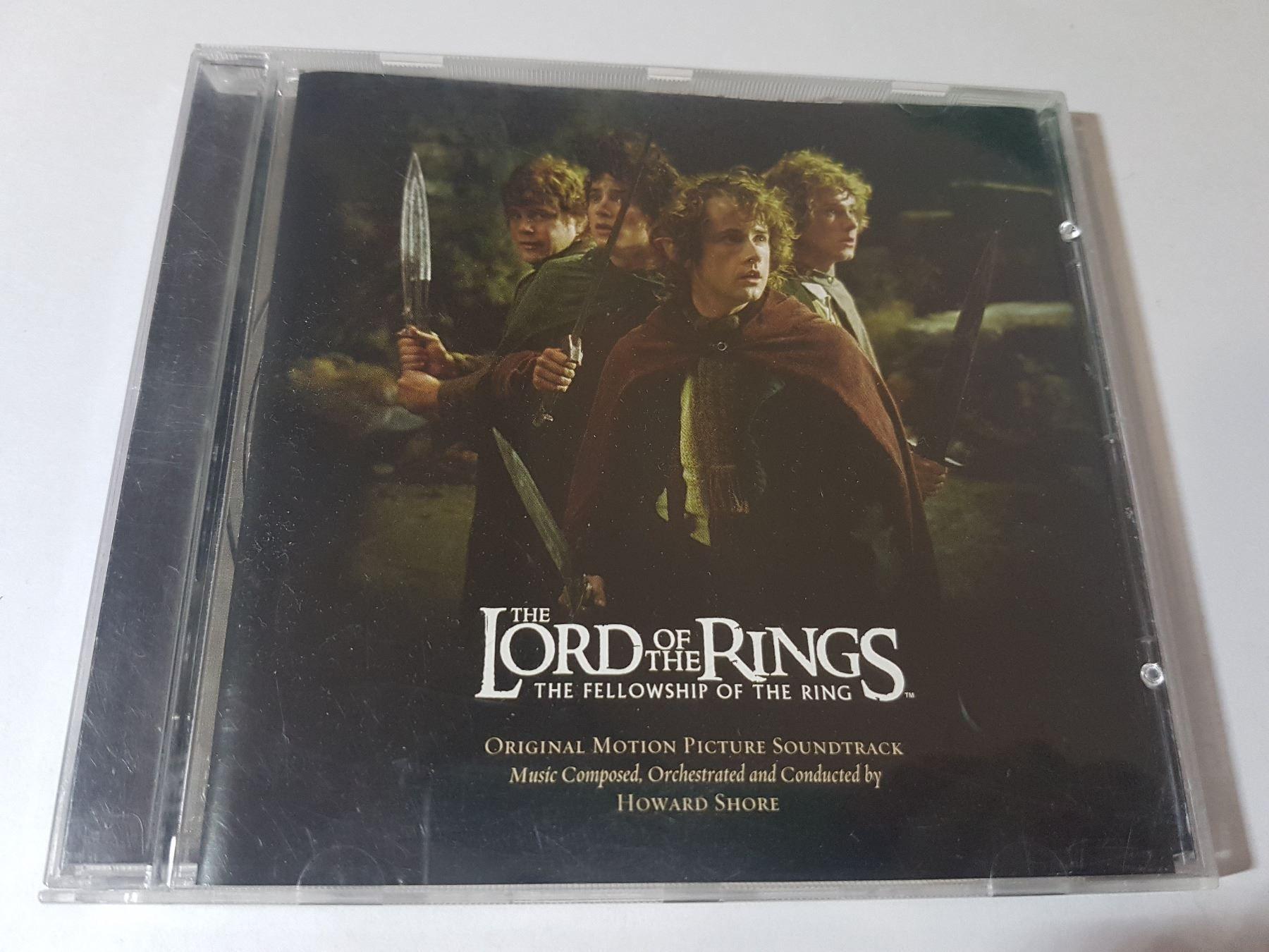 The Fellowship of the Ring Soundtrack CD