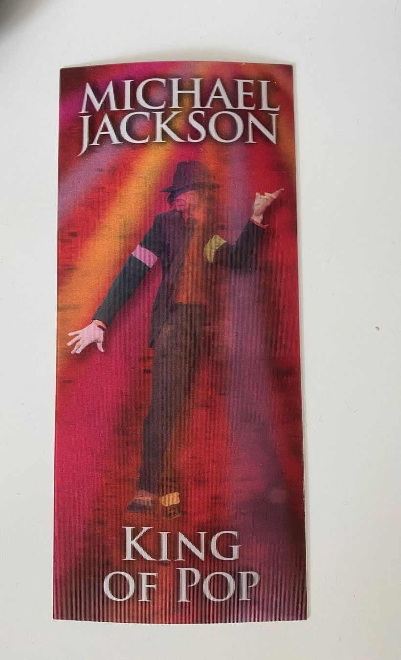 """Michael Jackson """"This is it"""" Ticket"""