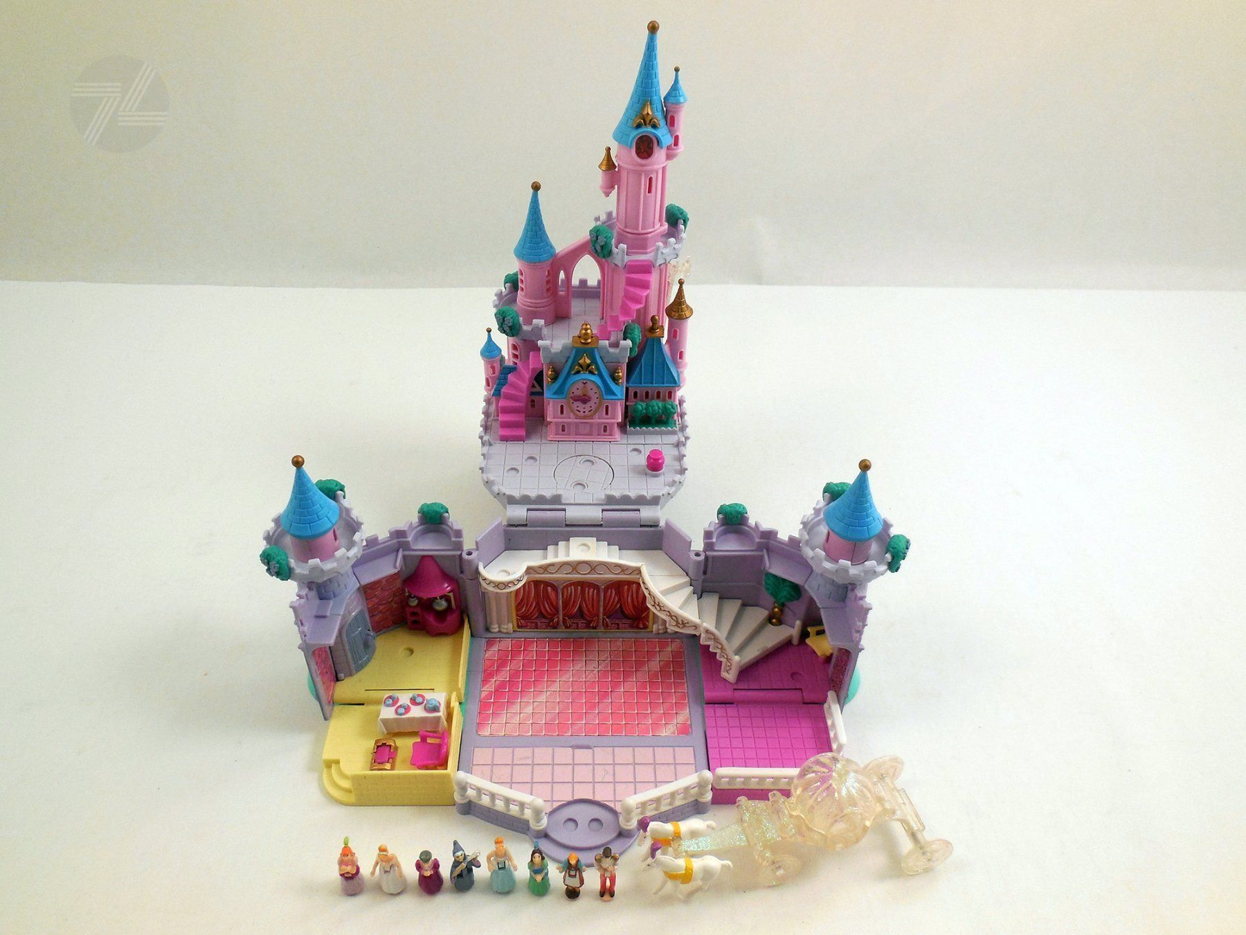 POLLY POCKET Disney Cinderella Castle