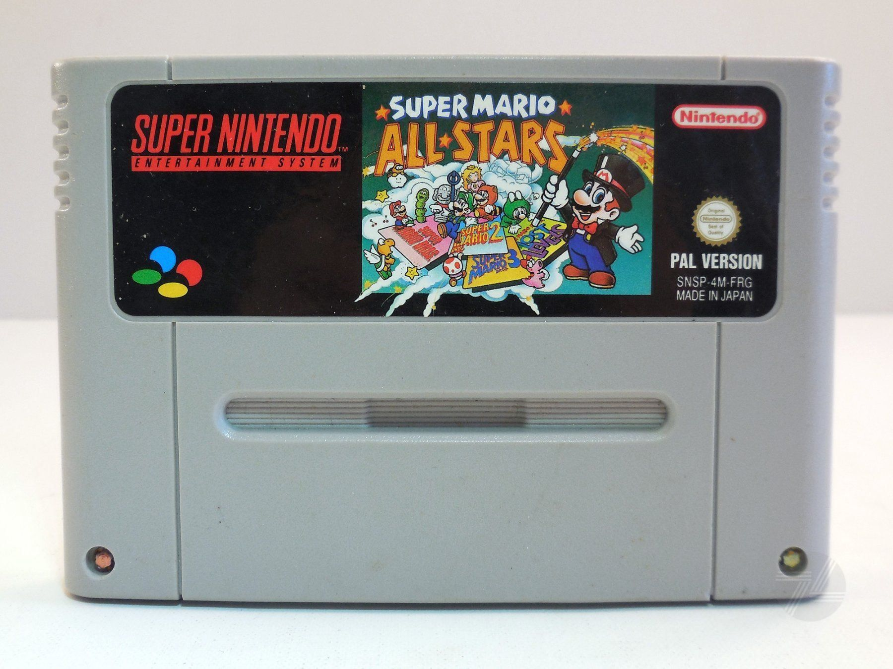 SUPER MARIO ALL STARS SNES Nintendo PAL