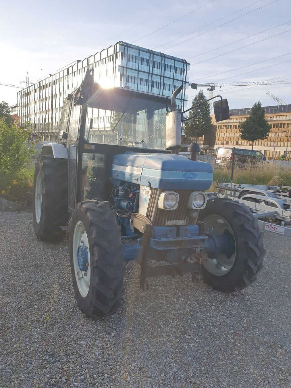 Traktor Ford Gb 4110  allrad