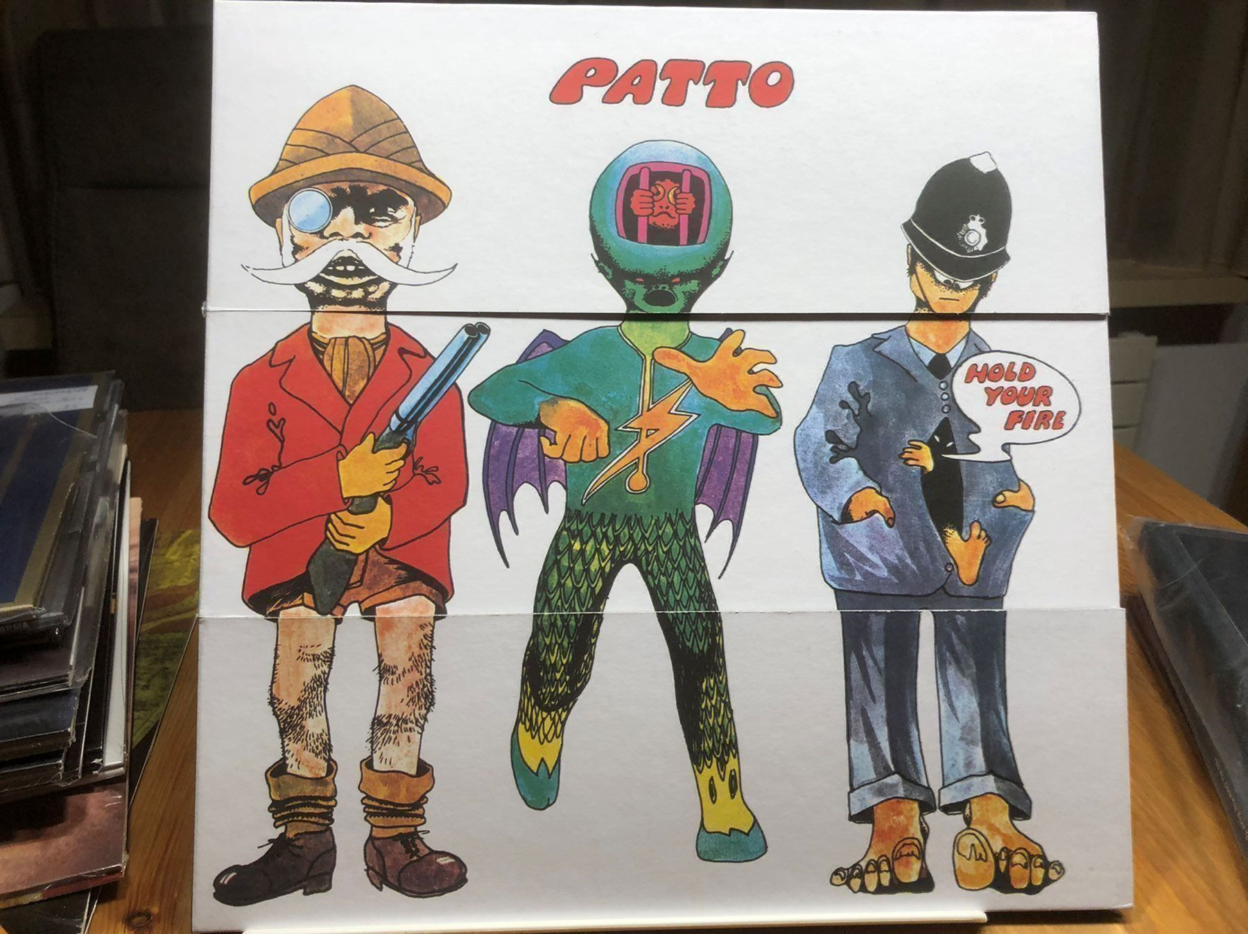 Rare PATTO REISSUE Album