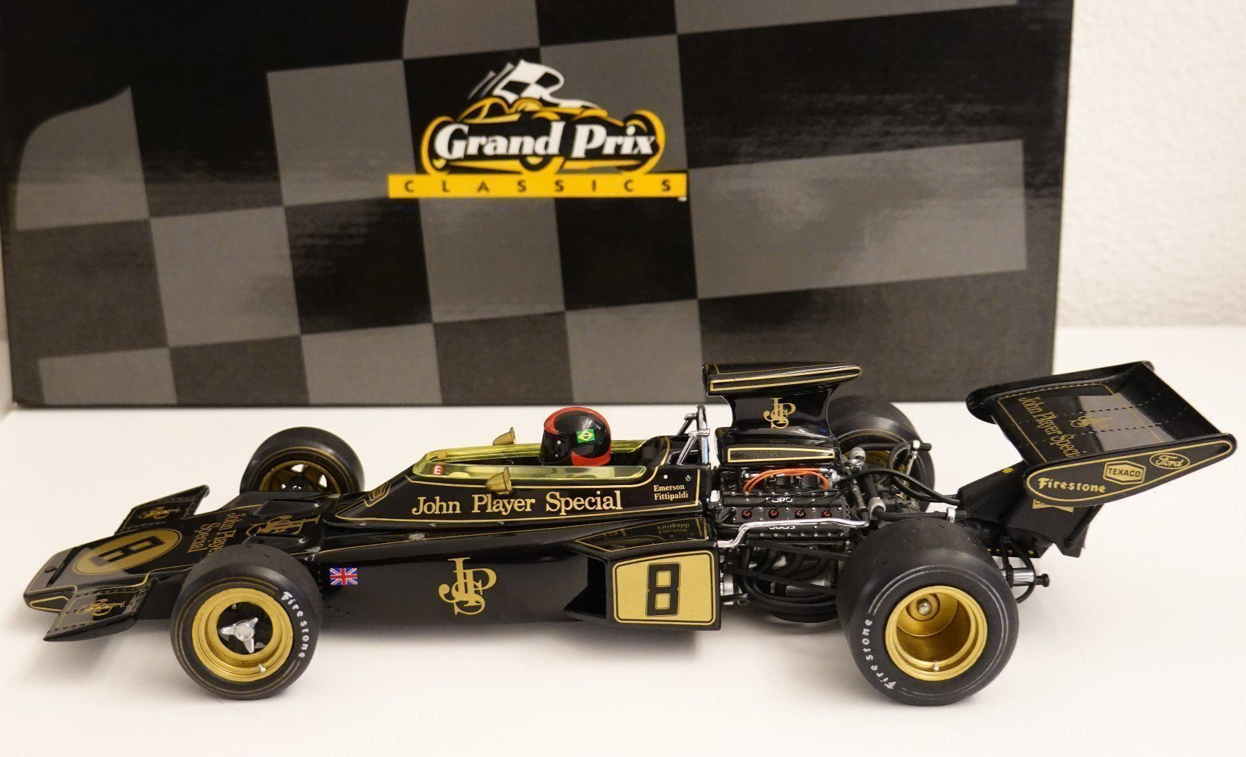 EXOTO - Lotus 72D Ford - Fittipaldi 1:18