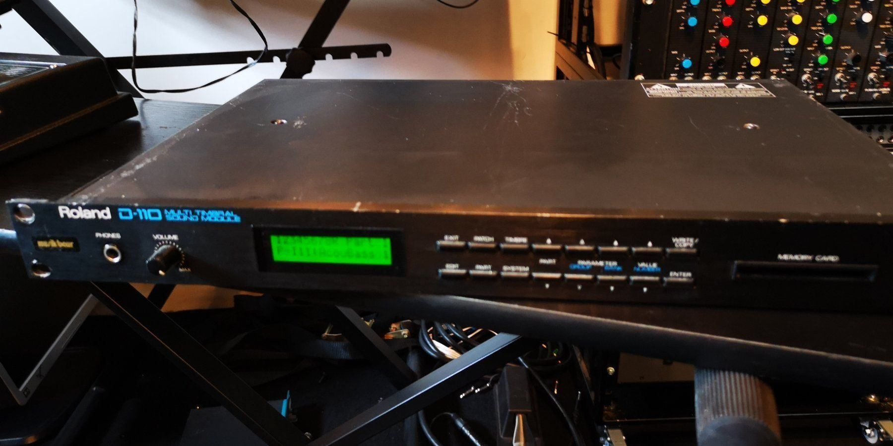 Roland D-110 Synthesizer Modul