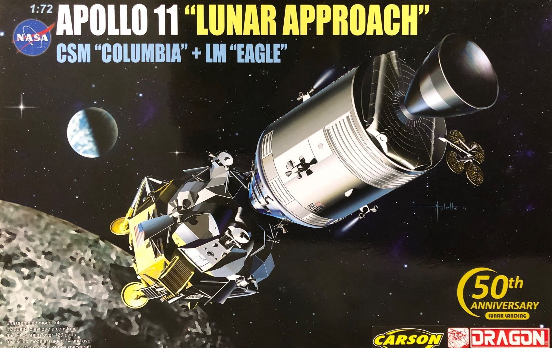 "Dragon 11001-03 ""Apollo11"""