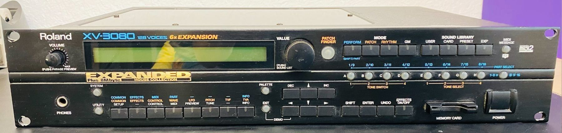 Roland XV-3080 inkl. House-ExpansionCard