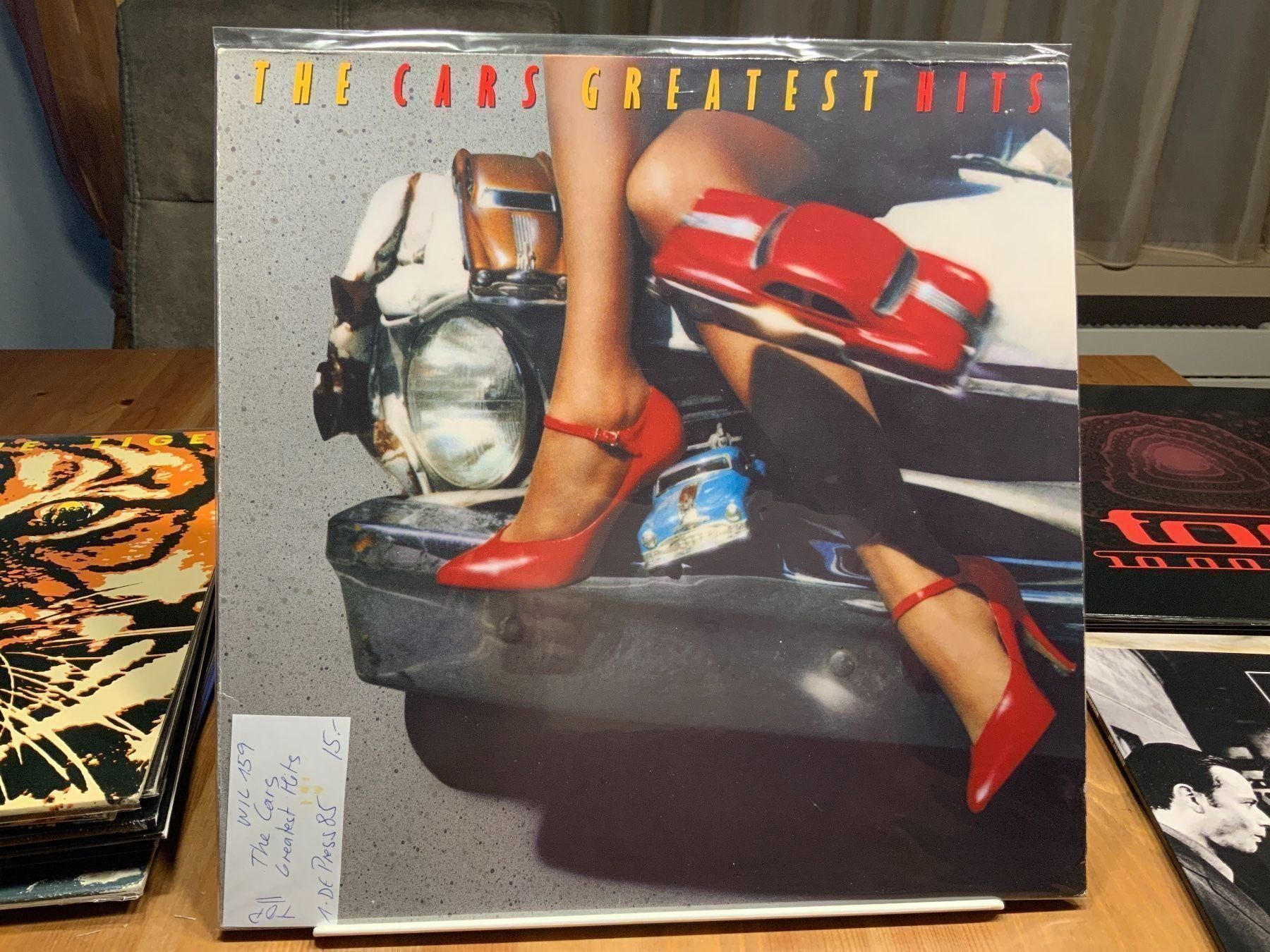 THE CARS ***** TOP ZUSTAND