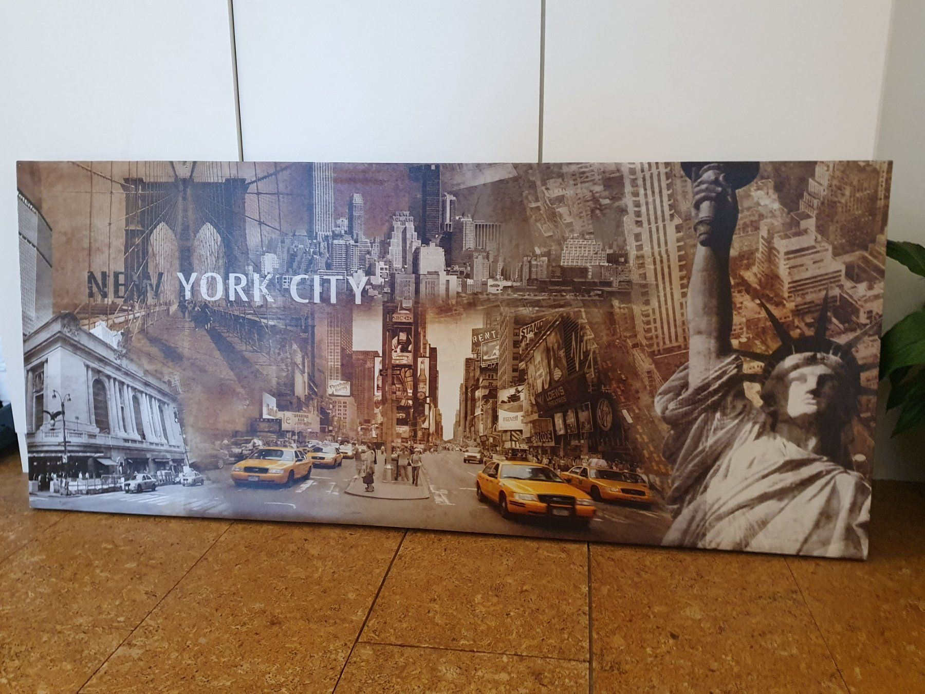 "Leinwand Bild ""New York City "", 140x60cm"