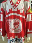 MATCH WORN TRIKOT GDT BELLINZONA # 1 XL