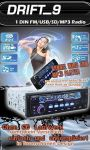 Autoradio-RDS-USB-SD-MP3-AUX 4x50Watt