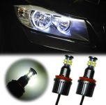 120W H8 LED Angel Eyes Marker E70 E92