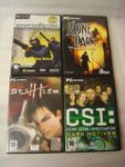 4x PC Game  - in Italiano - Fr 1 !!!