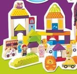 Jeu de construction Hape ville 180 pcs