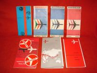 7.  SWISSAIR FLUG ROUTES / ANTIK