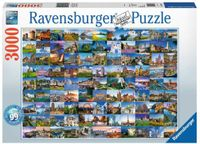 RAVENSBURGER 17080 - 99 Places of Europe