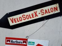 Velosolex-Salon-Schild