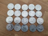 20 Quarters versch. Nationalparks