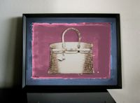 Hermes Birkin Bag Pop Art Fashion Kunst