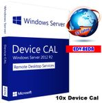 Windows Server 2012 R2 10 Decices CAL